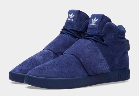 Фото Adidas Tubular Invader Strap синие - 3