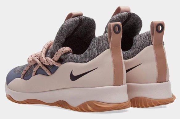 Фото Nike City Loop серые с розовым - 1
