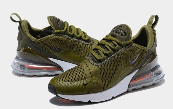 Фото Nike Air Max 270 зеленые - 1
