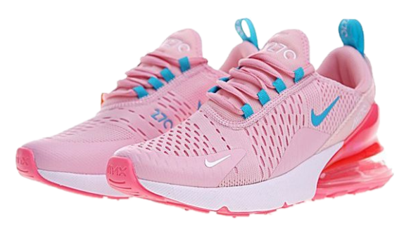 Фото Nike Air Max 270 Розовые с Голубым - 3